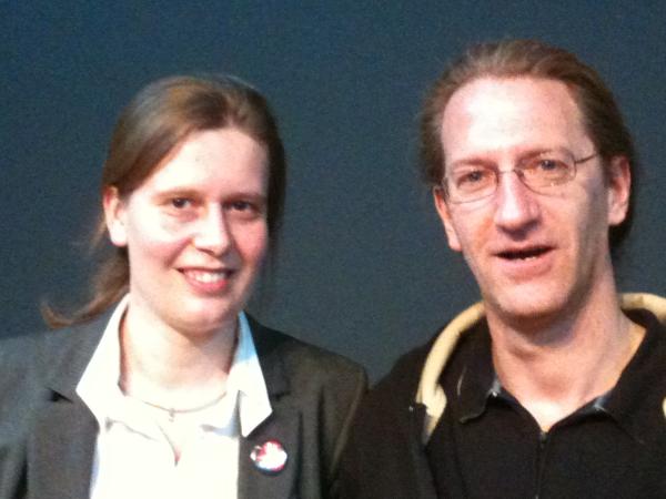 Vanessa Buffel und Daniel Schmid von Habegger