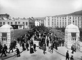 Feierabend bei BBC 1916