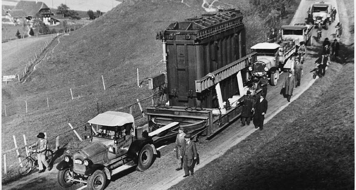 Trafotransport 1937