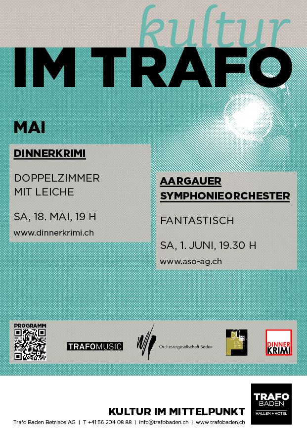 Mai Kulturagenda Trafo Baden