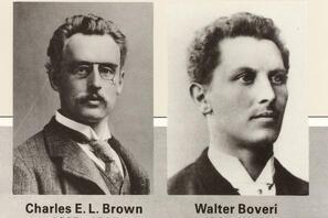 Charles E.L. Brown + Walter Boveri