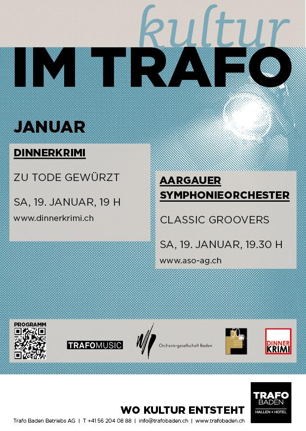 Trafo Baden Kultur im Januar