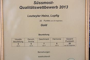 Urkunde Leutwyler