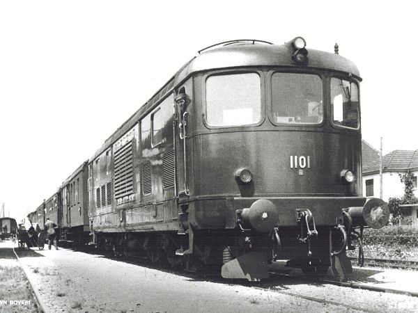Gasturbinenlokomotive BBC 1947