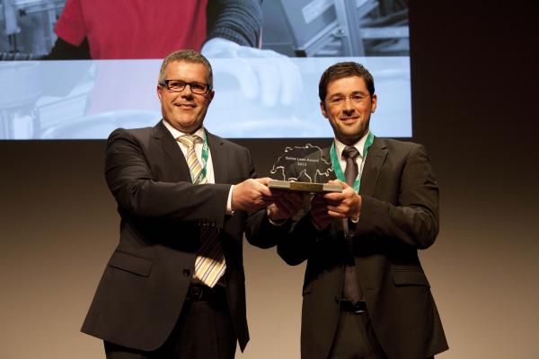"""Gewinner des """"Lean Award 2013"""": Hilti AG"""
