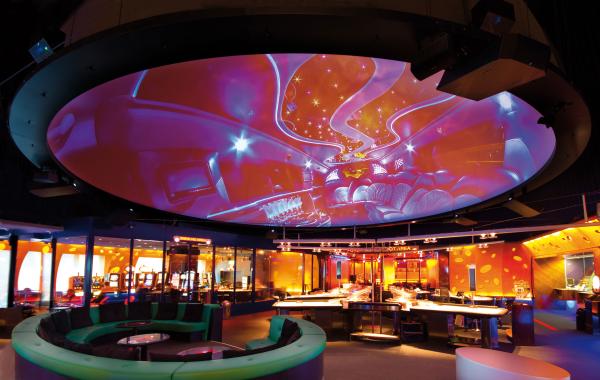 Kuppel Grand Casino Baden, Partner Trafo Baden